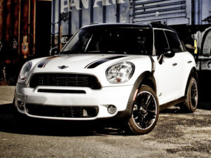 2015 mini countryman sticker bonnet cofano adesivi