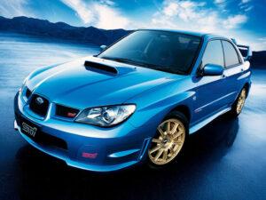Subaru Impreza STI 2003 2005 kit replica adesivi STI Subaru Tecnica International