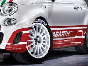 Kit adesivi replica Abarth 500 R3T