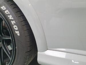 Abarth Grande Punto Evo 2010 kit adesivi PPF paint protection film protezione carrozzeria trasparente