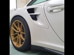 Porsche 997 GT2 Club Sport kit adesivi PPF paint protection film protezione carrozzeria trasparente