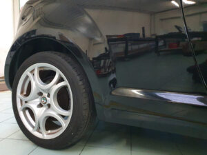 Alfa Romeo Mito kit adesivi PPF paint protection film protezione carrozzeria trasparente