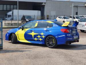 Subaru Impreza WRX Sti 2019 livrea Motorsport USA Rally Team solberg