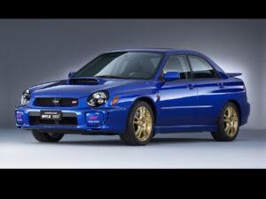 Subaru Impreza STI 2001 2002 kit adesivi STI Subaru Tecnica International