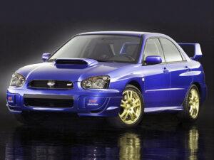 Subaru Impreza WRX STI 2003 2005 gadget adesivi artestick