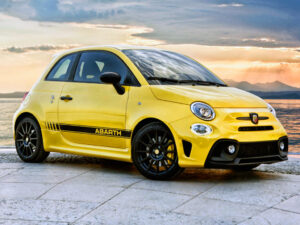 Abarth 500, 595, 695 kit fasce laterali adesive restyling ABARTH