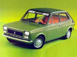 Fiat 127 fascia parasole adesiva personalizzata