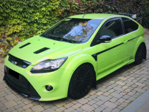 ford focus rs mk2 fasce laterali mountune stripes side