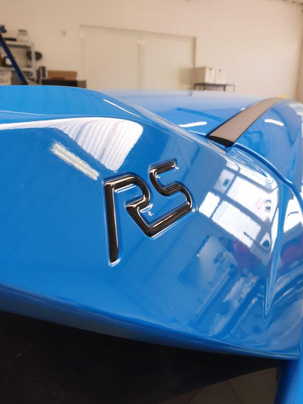 Ford Focus RS mk3 kit adesivi laterali per spoiler RS