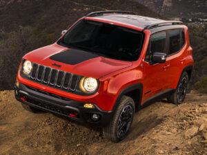 quadro cofano adesivo sticker decal jeep renegade