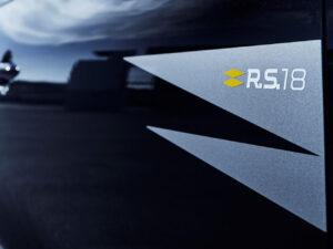 renault-clio-rs18 adesivo sticker side portiere laterali
