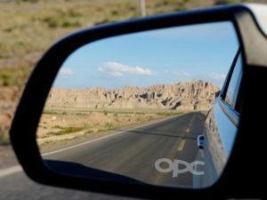 Opel adesivi sabbiati specchietti retrovisori logo OPC